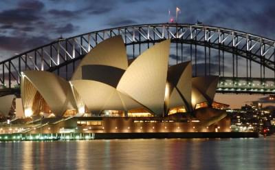 Australia Cruises From California